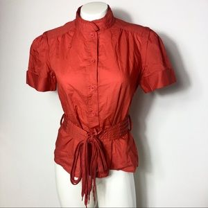 Marc Jacobs Button Down Blouse Small Top Women's